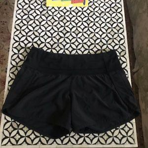 Lululemon Black gym shorts size 2